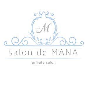 ロゴ salon de MANA